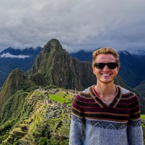 Me standing on Machu Picchu after 4 days backpacking