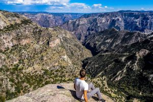 Backpacking northern Mexico, the copper canyon in Chihuahua
