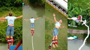 My Bungee Jumping in Chiang Mai
