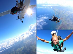 Skydiving in Oahu, Hawaii