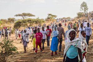 Locals in Äthiopien