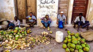 Locals in Lamu Town