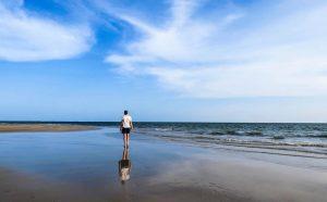 Beach of Lamu Island