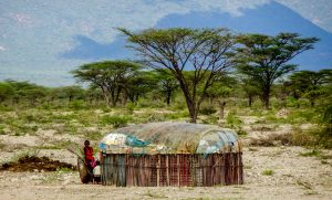 Backpacking Kenya to Samburu county