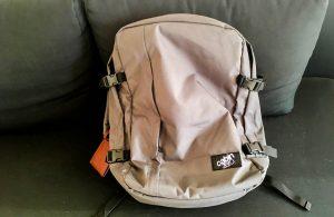 Der Handgepäck Reiserucksack in grau