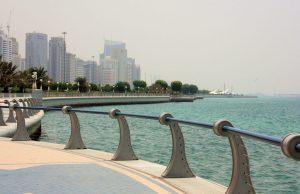 One day in Abu Dhabi - visit Abu Dhabi Corniche