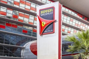 Die Ferrari World in Abu Dhabi