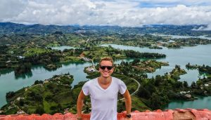 Colombia, Guatape backpacking journey