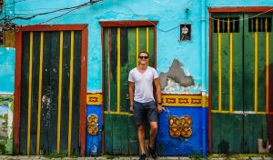 Colorful Guatapé, day trip from Medellin while colombia backpacking