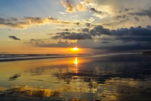 Bali Packliste Sonnenuntergang