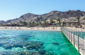 View of Coral Beach at Eilat