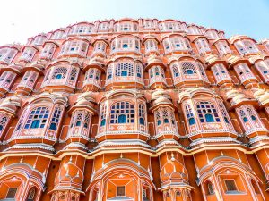 The most famous sight of Jaipur - the palace of the wind
