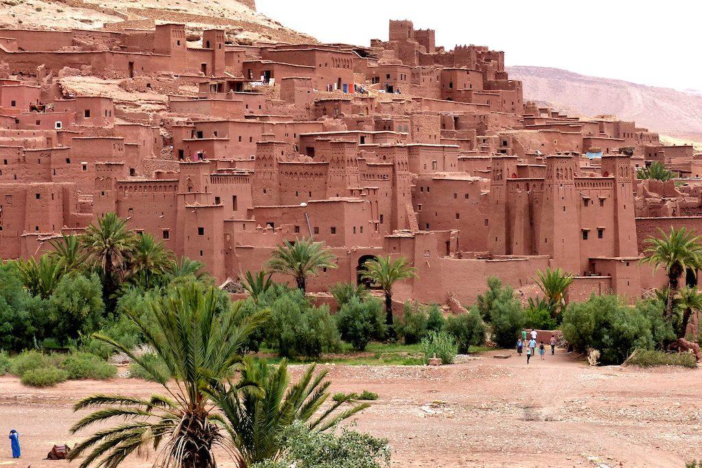Marokko Sehenswürdigkeiten in Air Benhaddou