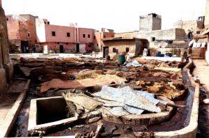 Marokko Sehenswürdigkeiten in der Medina von Marrakesch