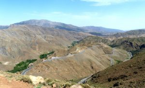 Aussicht Atlasgebirge Marokko Sehenswürdigkeiten