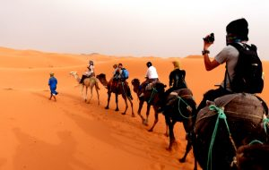 Sahara Wüste, die große Sehenswürdigkeit in Marokko