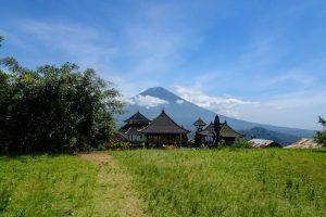 Bali Reisezeit ohne Wolken