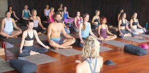 Yoga studio in Bali's Canggu