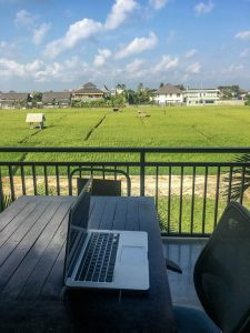Im Coworking Space District Canggu