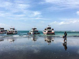 Backpacking Indonesien - Sauna Hafen zu den Nusas