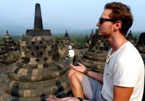 Indonesischer Tempel in Java
