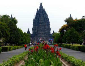 Tempel im indonesischen Java