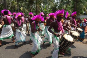 Parades in Kerala, India
