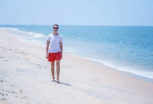 Beaches in Kerala are perfect for backpacking