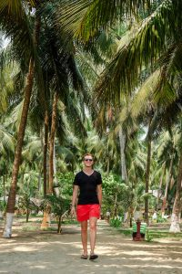 Backpacking in Kerala - time on the beach
