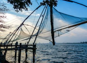 Backpacking in Kerala to Fort cochin
