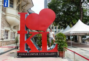 Visiting the City Gallery in KL