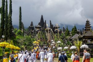 Besakih temple is the most important temple in Bali