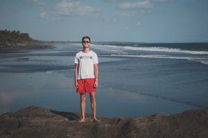 Backpacker beach in Bali, Pasut beach
