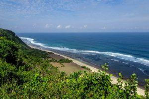Bali backpacker beach in Uluwatu