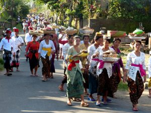 Bali backpacking experience - a Hindu ceremony