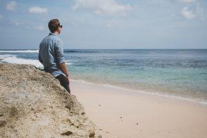 Beach day in Uluwatu while backpacking around Bali