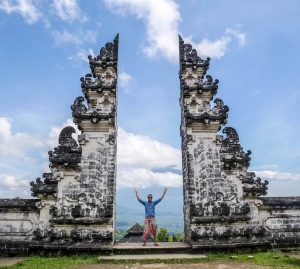 Pura Lempuyang temple in eastern Bali