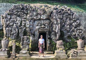 Backpacking Ubud, Bali - the elephant cave