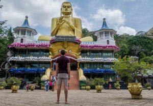 Sri Lanka Sehenswürdigkeiten Golden Tempel Dambulle
