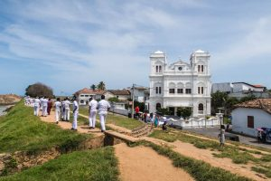 Colonial building in Galle