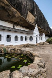 Dambulla Cave Temple from the outside