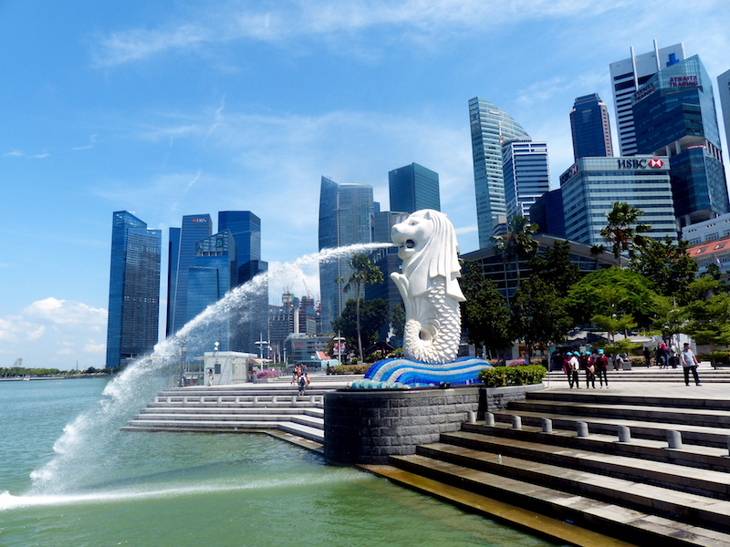 Visum Singapur - Merlion Statue