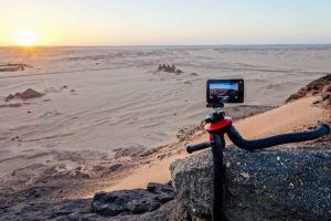 Shooting in Sudan with the Selfie with the YI Technology 4K+ Action Cam