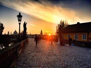 Prag Sehenswürdigkeiten am frühen Morgen