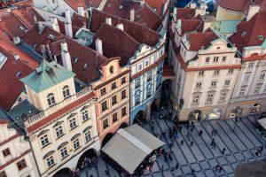Aussicht von den Prager Türmen