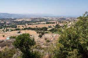 View of Paphos Cyprus