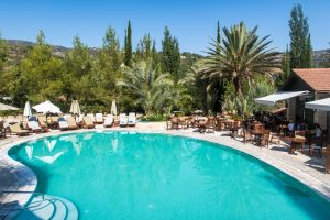 Pool at Ayii Anargyroi Natural Healing Spa Resort with Agrotourism Cyprus