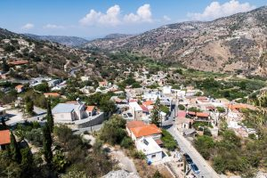 View of Episkopi village