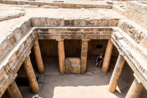 The tombs in Paphos with Agrotourism
