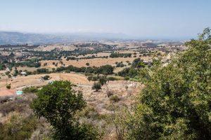 Ausblick auf Paphos Zypern
